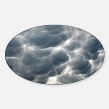 STORM CLOUDS 2 Sticker (Oval)