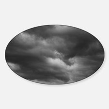 STORM CLOUDS 1 Sticker (Oval)