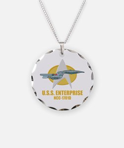 Star Trek Galaxy Class Necklace