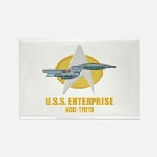 Star Trek Galaxy Class Rectangle Magnet