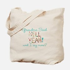 hell yeah personalized Tote Bag