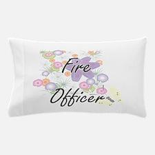 Fire Officer Artistic Job Design with Pillow Case