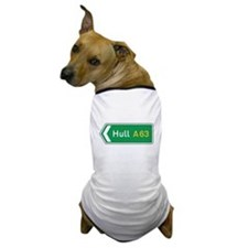 Hull Roadmarker, UK Dog T-Shirt