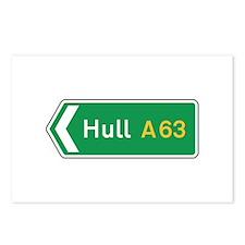 Hull Roadmarker, UK Postcards (Package of 8)