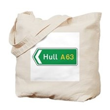 Hull Roadmarker, UK Tote Bag
