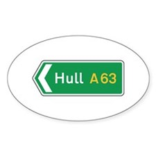 Hull Roadmarker, UK Oval Decal