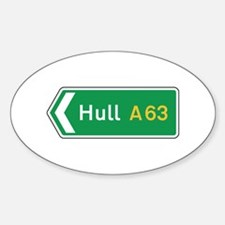 Hull Roadmarker, UK Oval Decal