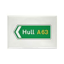 Hull Roadmarker, UK Rectangle Magnet