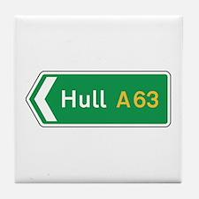 Hull Roadmarker, UK Tile Coaster