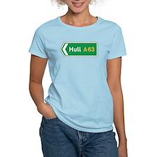 Hull Roadmarker, UK T-Shirt