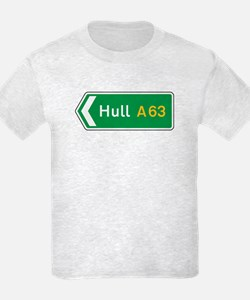 Hull Roadmarker, UK T-Shirt