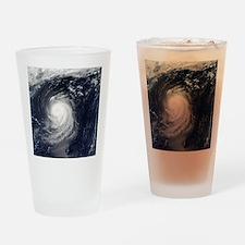 HURRICANE IRENE Drinking Glass
