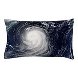 Hurricane irene Pillow Cases