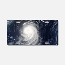 HURRICANE IRENE Aluminum License Plate
