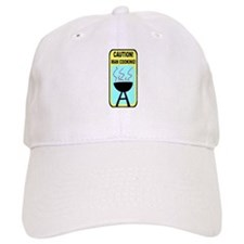 BBQ Caution! Baseball Cap
