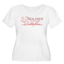 BUTTERFLIES - soldier T-Shirt