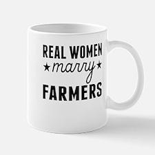Real Women Marry Farmers Mugs