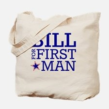Bill for First Man Tote Bag