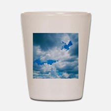 CUMULUS CLOUDS Shot Glass