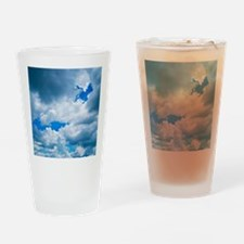CUMULUS CLOUDS Drinking Glass