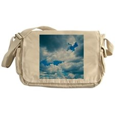 CUMULUS CLOUDS Messenger Bag