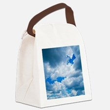 CUMULUS CLOUDS Canvas Lunch Bag