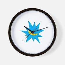 Pow Logo Wall Clock