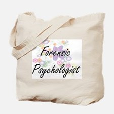 Forensic Psychologist Artistic Job Design Tote Bag