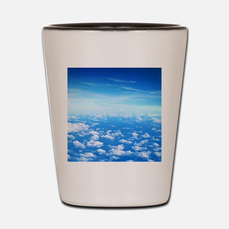 CLOUDS Shot Glass