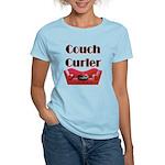 Couch Curler Women's Light T-Shirt