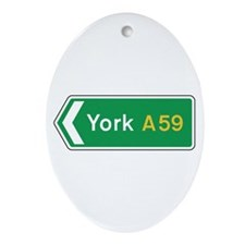 York Roadmarker, UK Oval Ornament