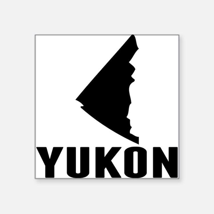 Yukon Silhouette Sticker