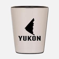 Yukon Silhouette Shot Glass