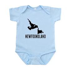 Newfoundland Silhouette Body Suit