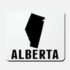 Alberta Silhouette Mousepad