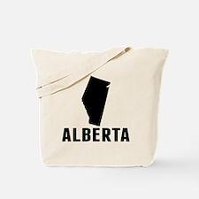 Alberta Silhouette Tote Bag
