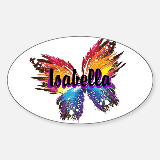 Personalize Butterfly Bumper Stickers