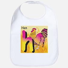 H for Hen Bib