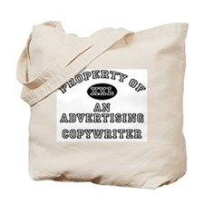 Property of an Advertising Copywriter Tote Bag