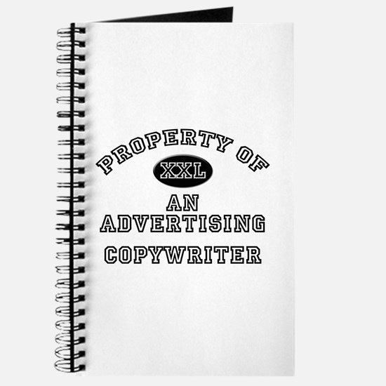 Property of an Advertising Copywriter Journal