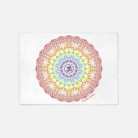 Namaste Mandala 5'x7'Area Rug