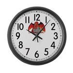 Fire Dragon Large Wall Clock