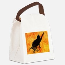 Cute Spooky Canvas Lunch Bag