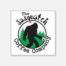 "Cool Cryptozoology Square Sticker 3"" x 3"""