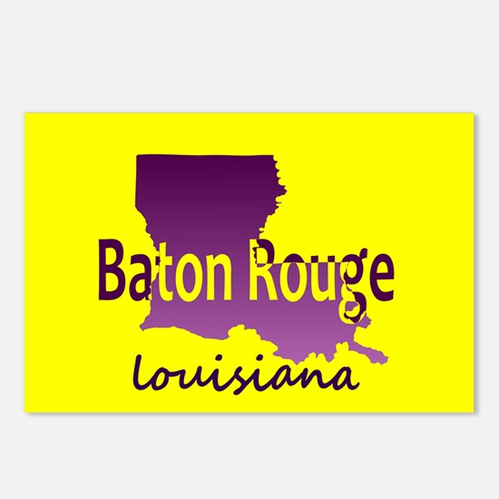 LOUISIANA BATON ROUGE 225 Postcards (Package of 8)