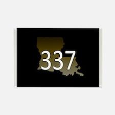 LOUISIANA 337 Area Code Magnets