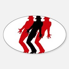 Funny Jazz dancing Decal