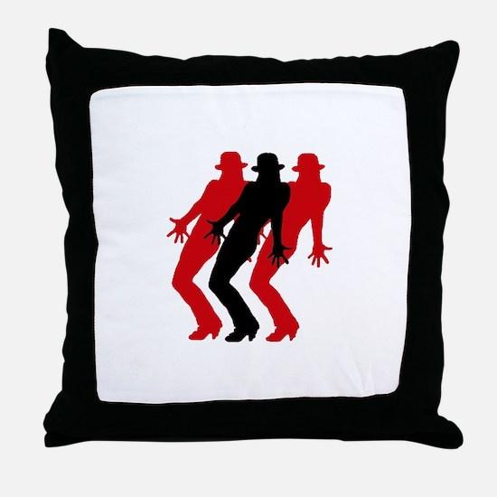 Funny Jazz dance Throw Pillow