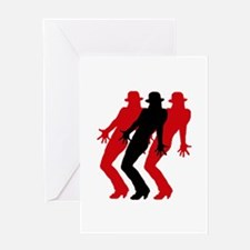 Tap dance Greeting Card