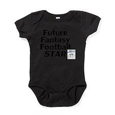 Cute Fantasy sports Baby Bodysuit